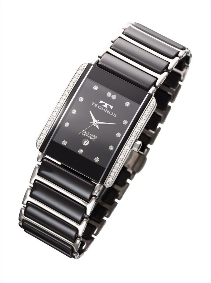 【メーカー正規品】TECHNOS テクノス メンズ 腕時計 サファイアガラス 男性用 メンズ 3針 クォーツ T9557TB シルバー プレゼント ラッピング無料 バレンタイン 誕生日 ブランド 激安 かっこいい モテ