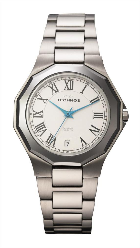 【メーカー正規品】TECHNOS テクノス メンズ 腕時計 タングステンベゼル 3針メンズクォーツ 3気圧防水 T9624CW シルバー プレゼント ラッピング無料 バレンタイン 誕生日 ブランド 激安 かっこいい モテ