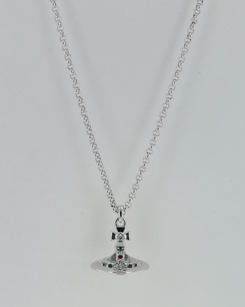 ヴィヴィアンウエストウッド Vivienne Westwood NEW PETITE ネックレス 63020098w 63020098/W004 アクセサリー ラッピング無料可能 プレゼント ホワイトデー
