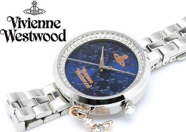 ヴィヴィアンウエストウッド VivienneWestwood 腕時計 ウォッチ レディース シルバー オーブ VV139NVSL プレゼント ラッピング無料可能 人気 おすすめ 激安 ホワイトデー おしゃれ かわいい 有名 大人気 ファッション 小物 流行