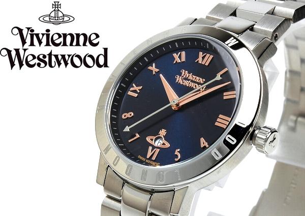 ヴィヴィアンウエストウッド VivienneWestwood 腕時計 ウォッチ レディース シルバー VV152NVSL プレゼント ラッピング無料可能 人気 おすすめ 激安 ホワイトデー おしゃれ かわいい 有名 大人気 ファッション 小物 流行