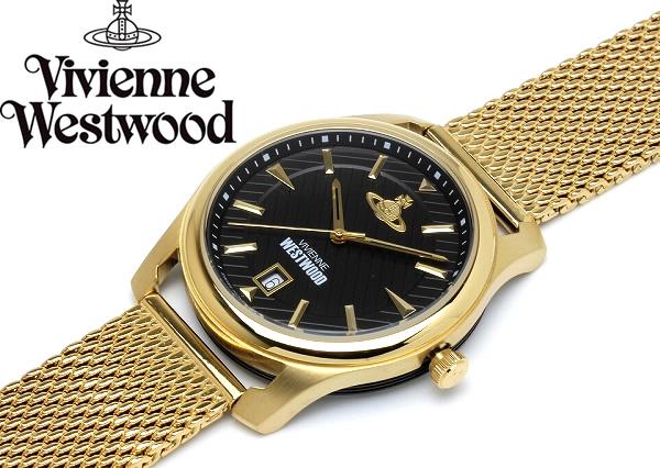 ヴィヴィアンウエストウッド VivienneWestwood 腕時計 ウォッチ メンズ メッシュ ステンレス VV185BKGD プレゼント ラッピング無料可能 人気 おすすめ 激安 バレンタイン おしゃれ かっこいい モテ 大人 有名 大人気 ファッション 小物 流行