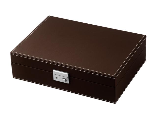 腕時計 box ボックス ケース 収納 ウォッチケース コレクションケース ディスプレイケース コレクションボックス おしゃれ 合皮 クリスマス プレゼント ラッピング無料 【腕時計】【収納】【インテリア】【高級】