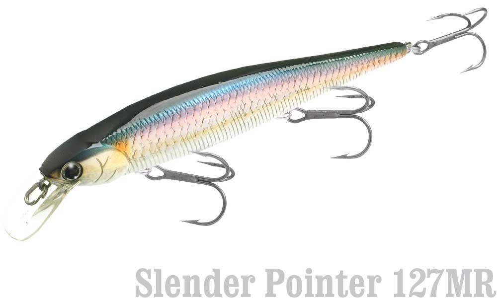 368 Ghost Natural Shad Lucky Craft Slender Pointer 112MR
