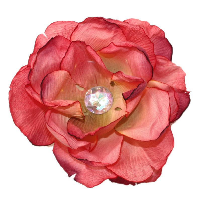 ハンドメイドの本格的なお花ですアメリカ直輸入ヘアアクセサリー Woobie Wearフラワークリップ ☆最安値に挑戦 装飾付 上等 別売りのヘアバンド 1歳:女 3歳:女 お誕生日 帽子に付けてお使いいただけます 2歳:女