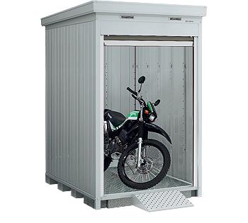 【イナバガレージ】バイク保管庫FXN-1322HY●ハイルーフ■一般型多雪地型