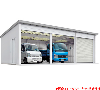 【イナバ】イナバ倉庫SG-358GP-33棟タイプ●ジャイアント■一般型