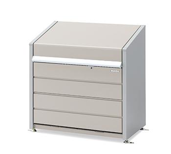 【イナバ物置】ダストボックスミニ DBN-106Pパネル床タイプ【ゴミ保管庫】【45Lゴミ袋×9袋相当】【屋外】