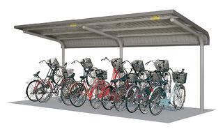 【タクボ】自転車置場SP1LBシリーズSP13LBA-L■追加棟