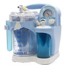 吸引器 鼻水 パワースマイル KS-700(ブルー) シリコンオリーブ管付【平日ご注文は当日発送(休業日除く)】