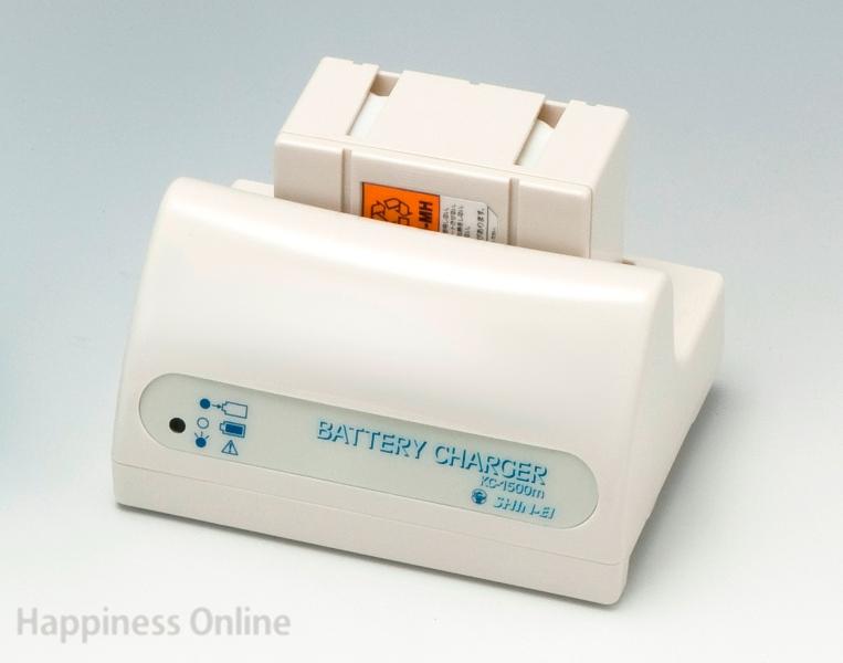 パワースマイル専用充電器KC-1500(充電池付き)