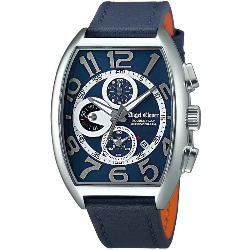 エンジェルクローバー AngelClover腕時計 メンズ ダブルプレイ ネイビー DP38SNV-NV