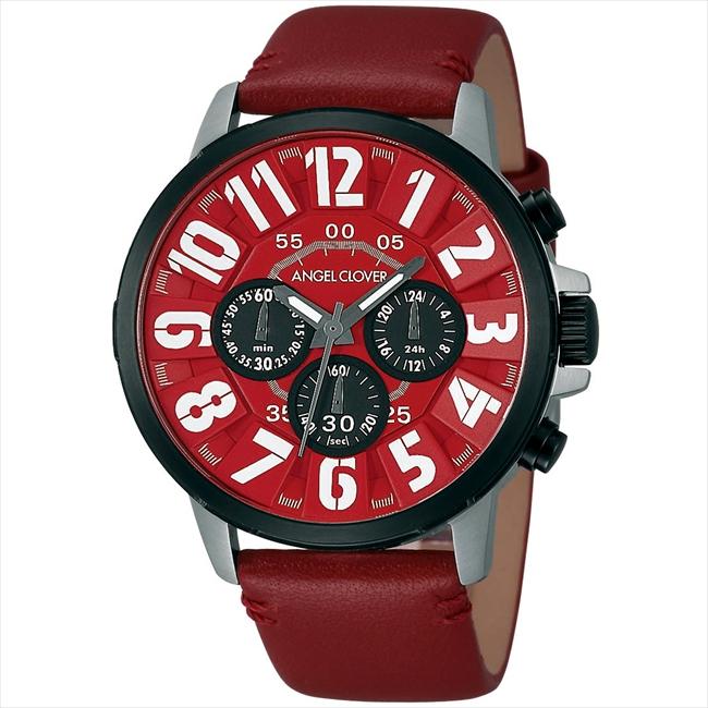 エンジェルクローバー AngelClover 腕時計 バンプ  レッド BU44BRE-RE
