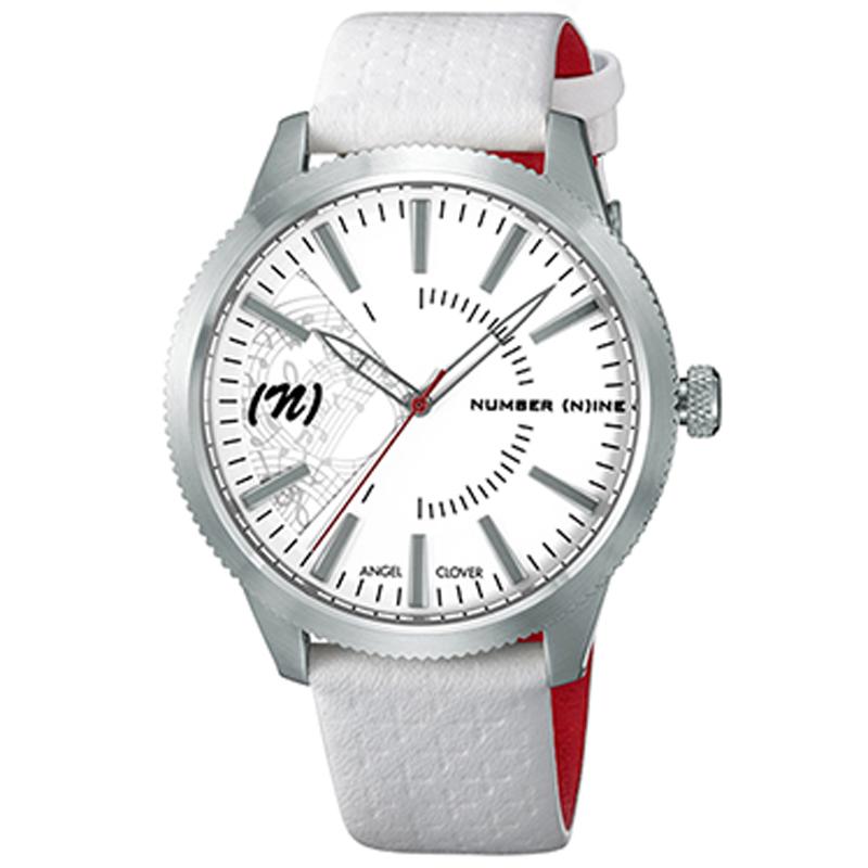 エンジェルクローバー Angel Clover 腕時計 NN42SWH-WH ナンバーナイン