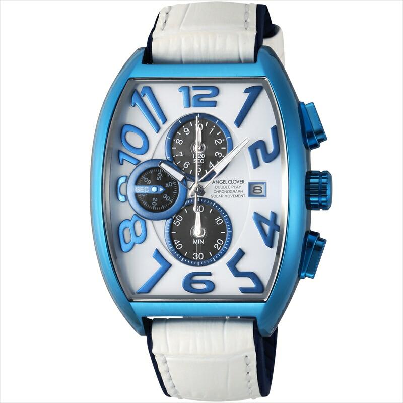 エンジェルクローバー Angel Clover メンズ腕時計 DPS38BNV-WH ホワイト