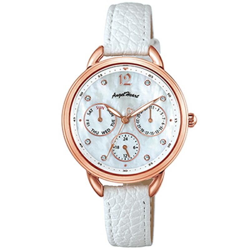 エンジェルハート Angel Heart 腕時計 LH33P-WH リトルハート