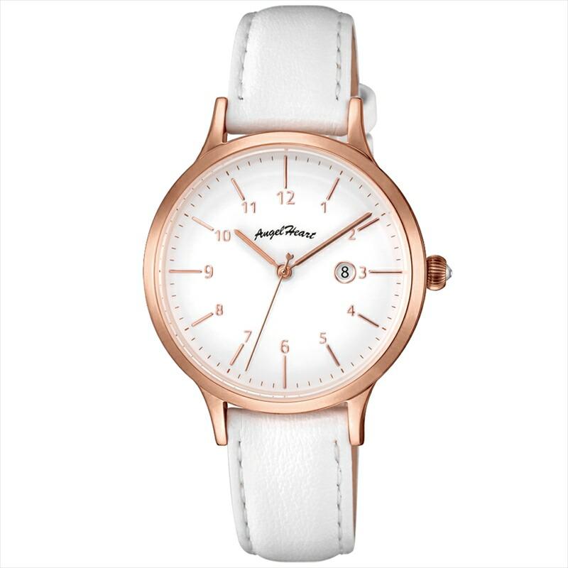 エンジェルハート Angel Heart レディース腕時計 PH32P-WH パステルハート ホワイト