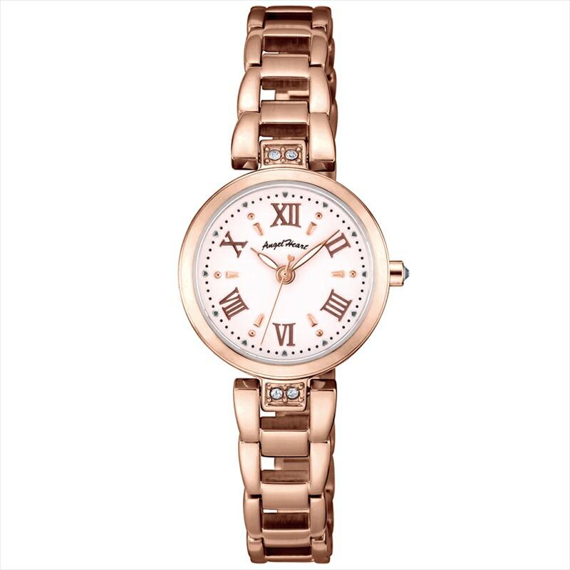 エンジェルハート Angel Heart レディース腕時計 ST24PG スパークルタイム ホワイト