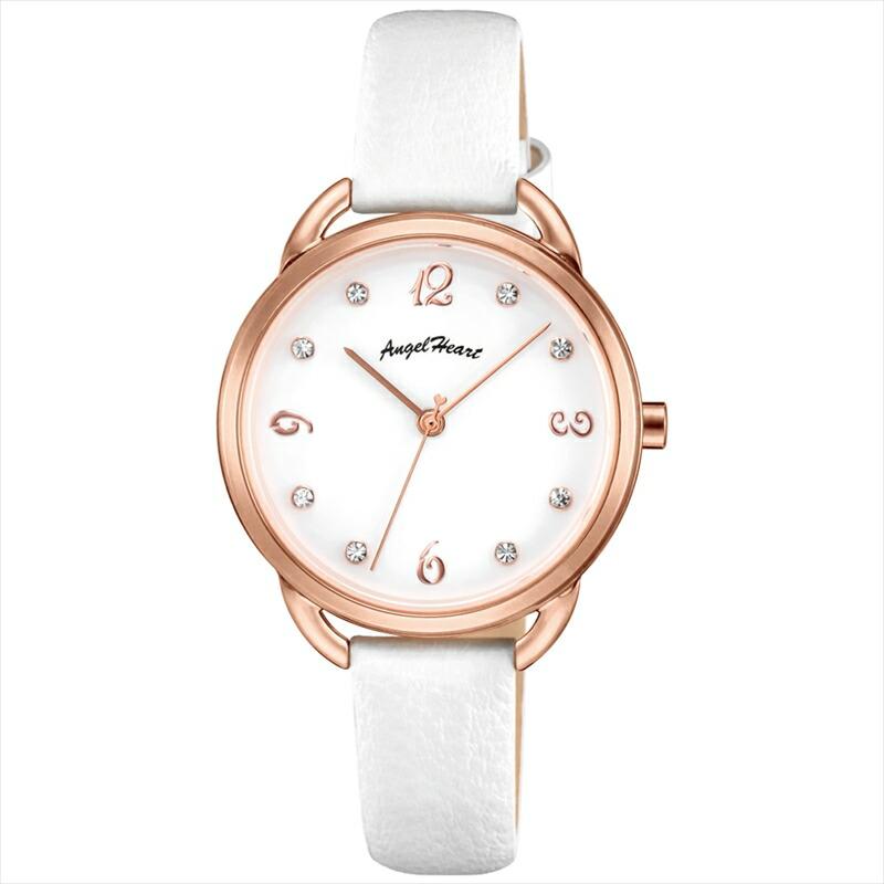 エンジェルハート Angel Heart レディース腕時計 VI31P-WH ウ゛ィーナス ホワイト