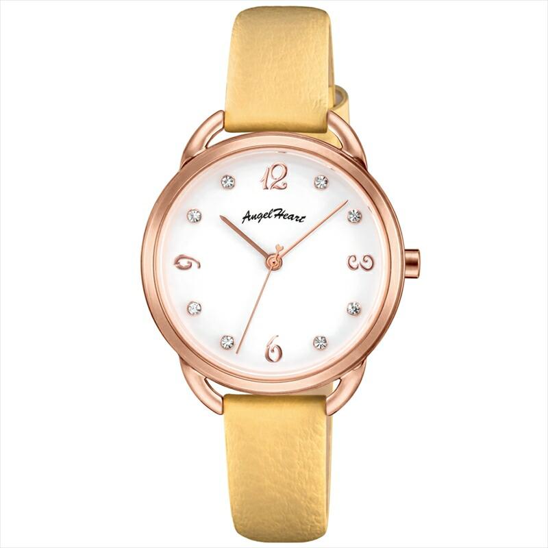 エンジェルハート Angel Heart レディース腕時計 VI31P-YE ウ゛ィーナス ホワイト