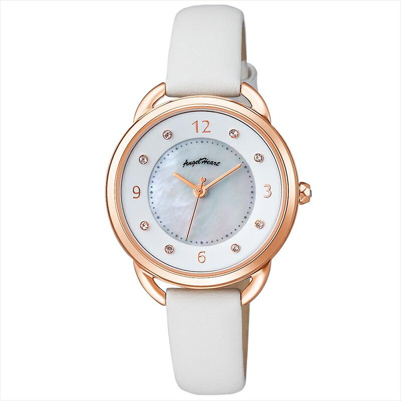 エンジェルハート Angel Heart レディース腕時計 吉岡里帆コラボモデル YR31P-WH ホワイトパール