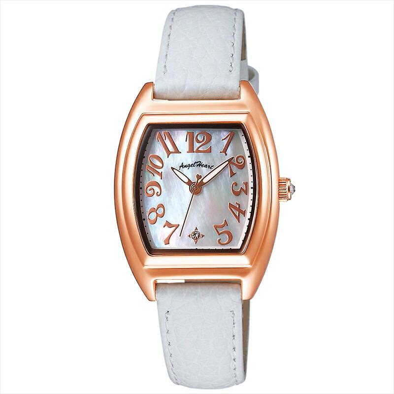 エンジェルハート Angel Heart レディース腕時計 ファーストスター FS26P-WH ホワイトパール