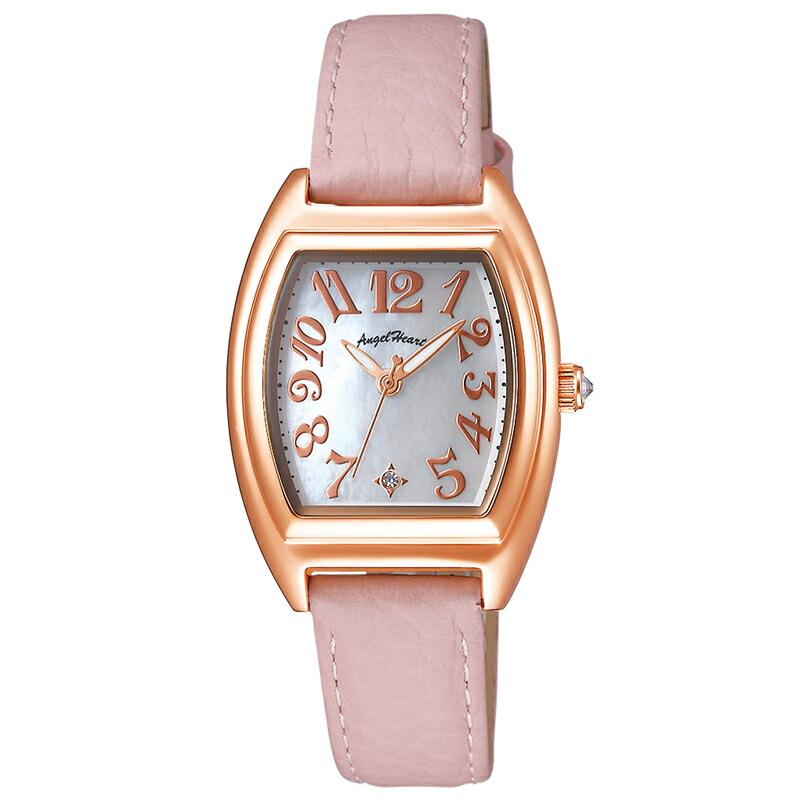 エンジェルハート Angel Heart レディース腕時計 ファーストスター FS26P-PK ホワイトパール