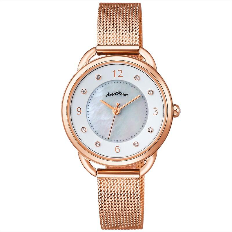 エンジェルハート Angel Heart レディース腕時計 吉岡里帆コラボモデル YR31PG ホワイトパール