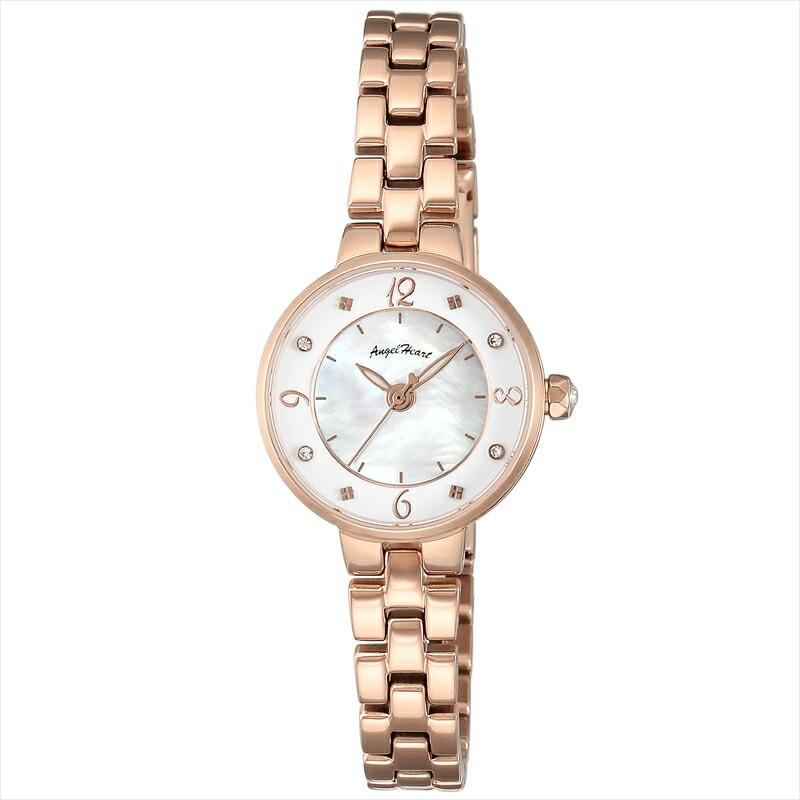 エンジェルハート Angel Heart レディース腕時計 トゥインクルハート TH23PG ホワイト