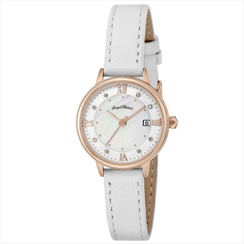 エンジェルハート Angel Heart レディース腕時計 リュクス LU26P-WH ホワイト