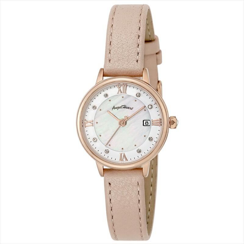 エンジェルハート Angel Heart レディース腕時計 リュクス LU26P-PK ホワイト