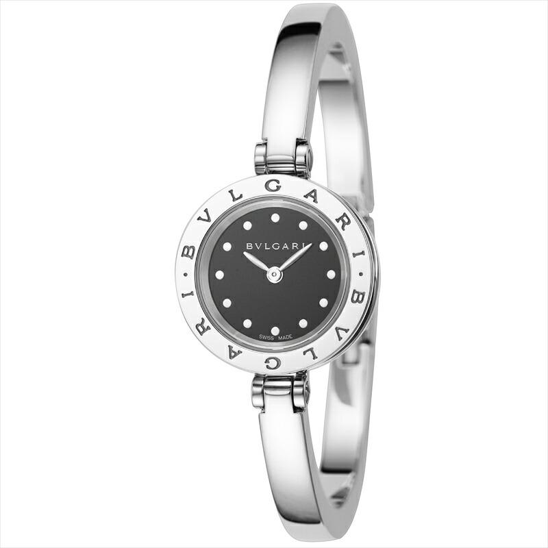 ブルガリ BVLGARI レディース腕時計 NEWB-zero1 BZ23BSS.M ブラック