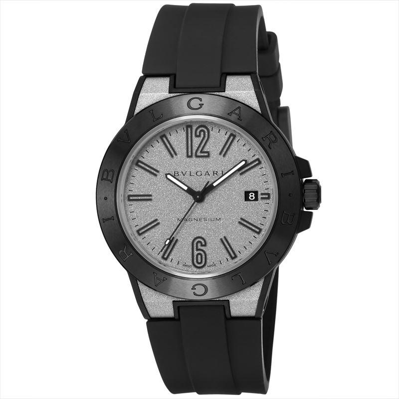ブルガリ BVLGARI腕時計 ディアゴノマグネシウム DG41C6SMCVD シルバー