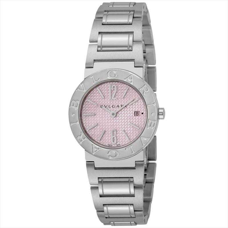 ブルガリ BVLGARI レディース腕時計 BB26C2SSD/JA ブルガリブルガリ ピンク