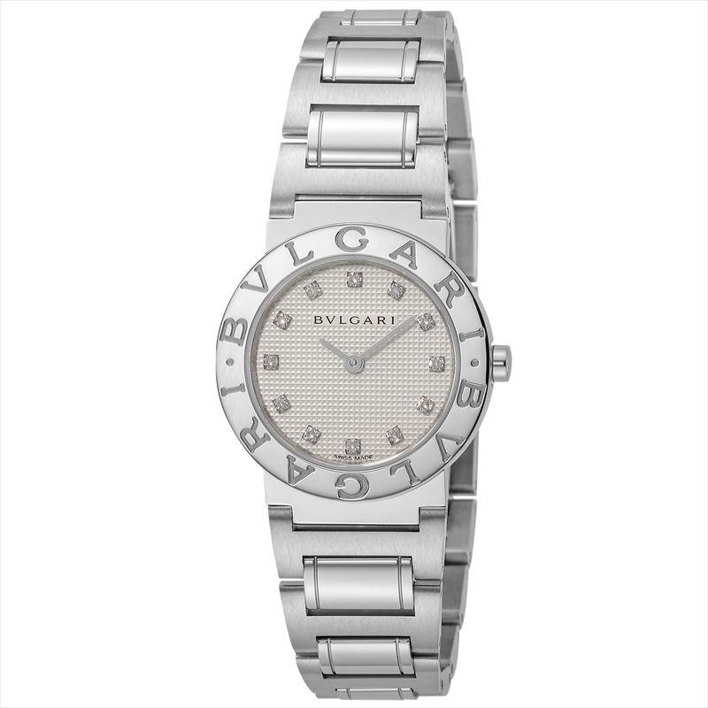 ブルガリ BVLGARI レディース腕時計 BB26WSS/12 ブルガリ ホワイト