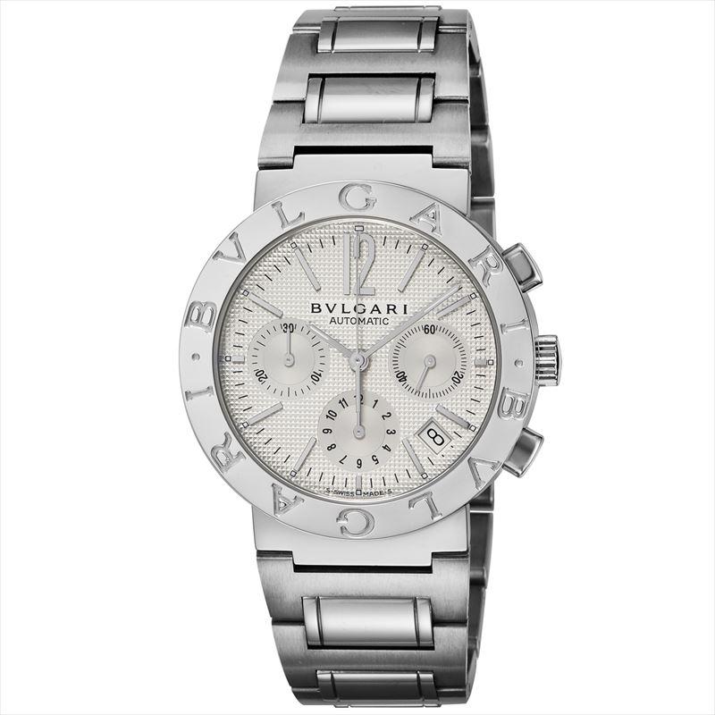 ブルガリ BVLGARI メンズ腕時計 ブルガリブルガリ BB38WSSDCH ホワイト