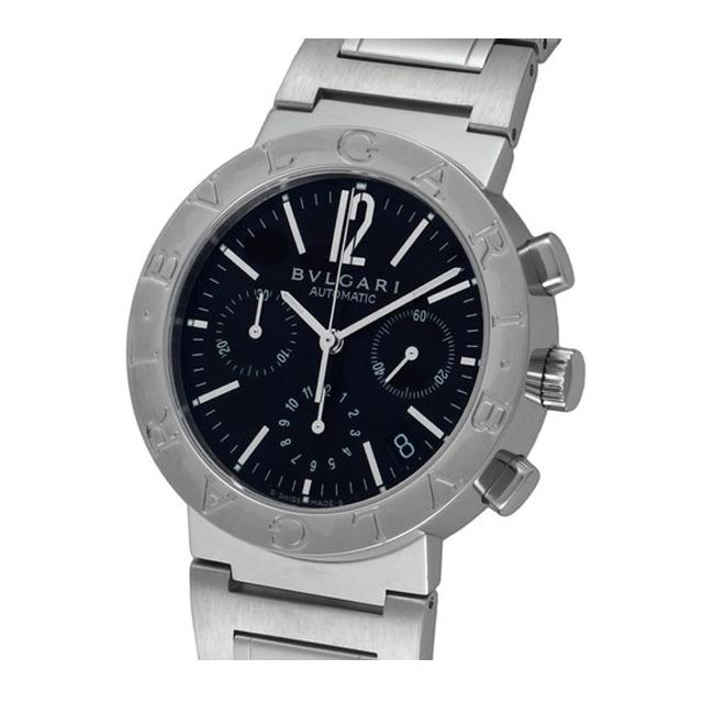 ブルガリ ブルガリ BVLGARI メンズ 腕時計 ブルガリブルガリ ブラック BB38BSSDCH