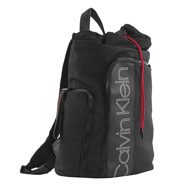 カルバンクライン CALVIN KLEIN バックパック DOUBLE LOGO FASHION BACKPACK DOUBLE LOGO K50K503894 BLACK