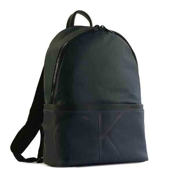 カルバンクライン CALVIN KLEIN バックパック RAISED LOGO BACKPACK K50K503690 NAVY