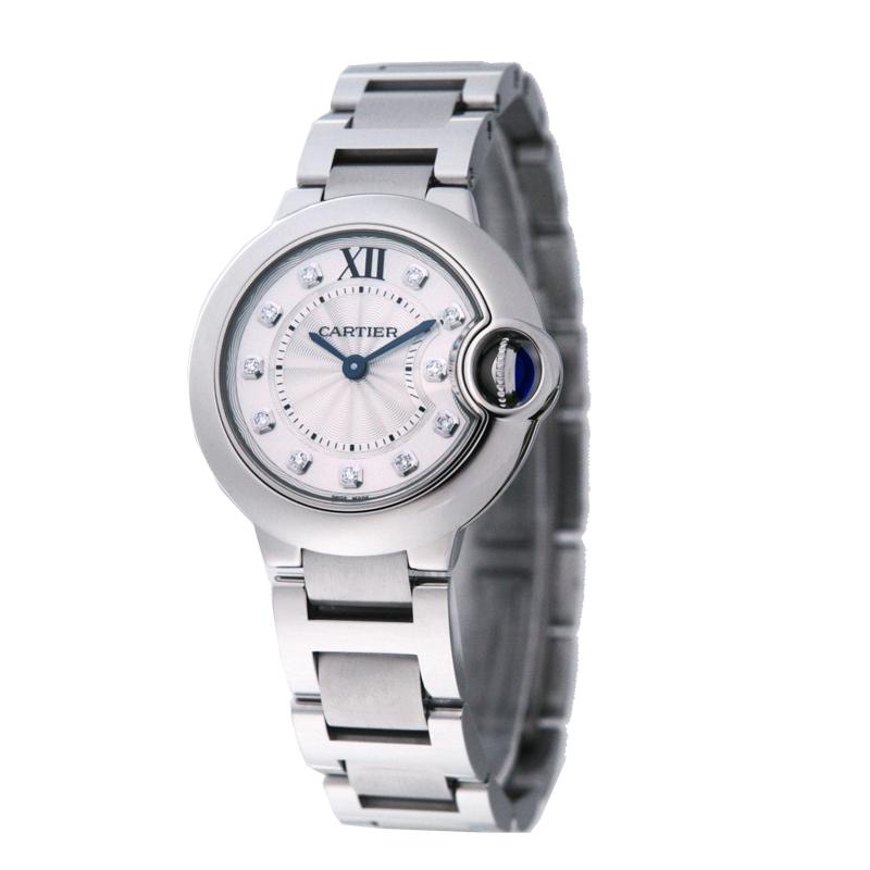 【店内全品送料無料~3/11】カルティエ Cartier 腕時計 バロンブルー WE902073 シルバー
