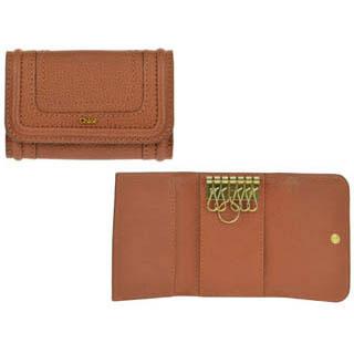 クロエ Chloe レディース カードケース 0390-043 17P ブラウン ディライト