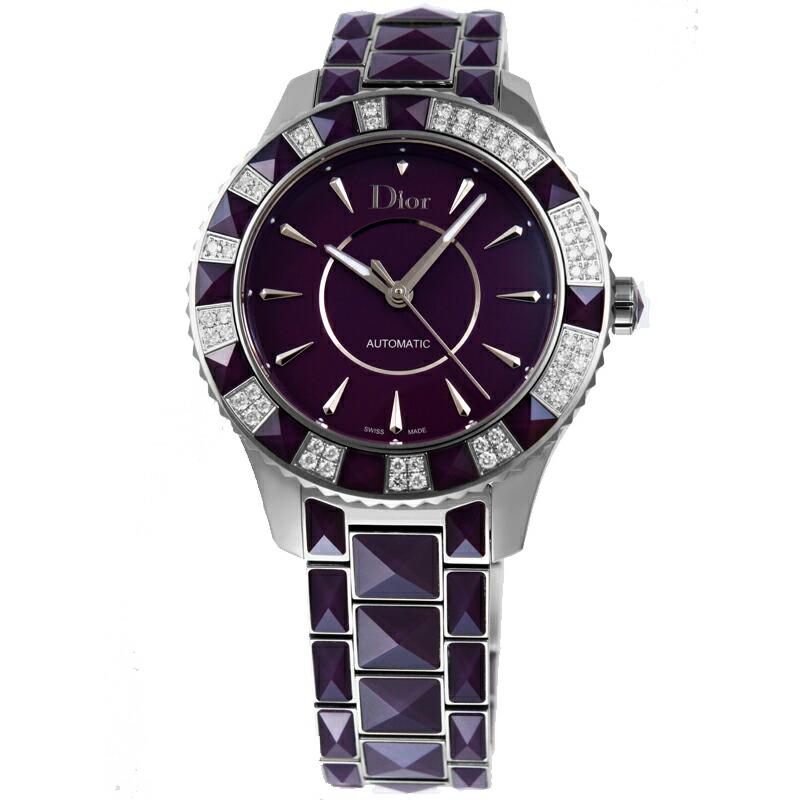 ディオール Dior 腕時計ユニセックス クリスタル 144515M001 PU/ダイヤ
