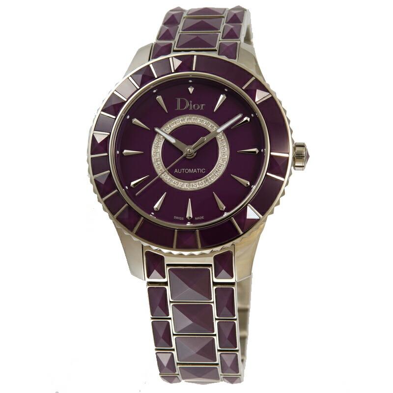 ディオール Dior 腕時計ユニセックス クリスタル 144512M001 PU/ダイヤ