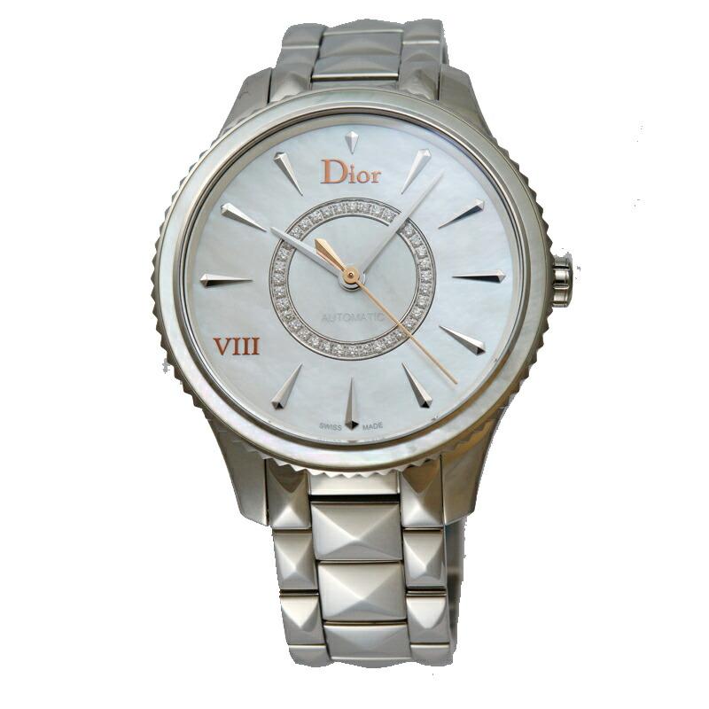 ディオール Dior 腕時計レディース オン・ユィット 153512M001 WHMOP/ダイヤ
