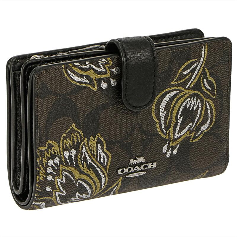 コーチ COACH 二つ折財布 F78077 SVP57