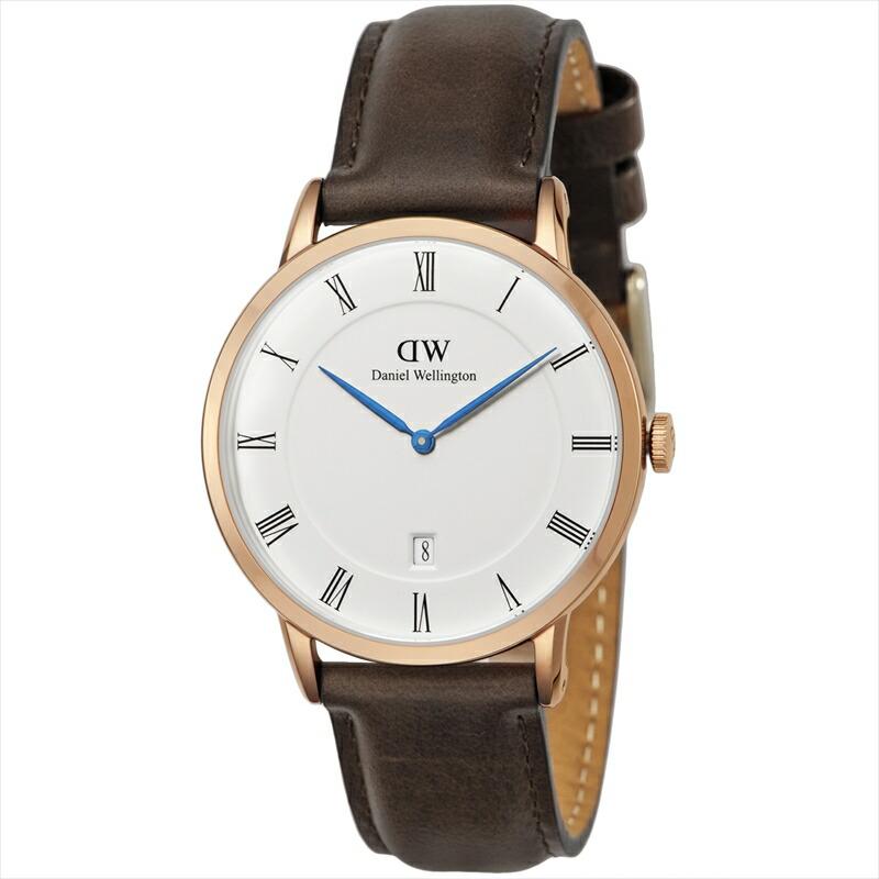 ダニエルウェリントン DanielWellington メンズ腕時計 DapperBristol 1103DW ホワイト