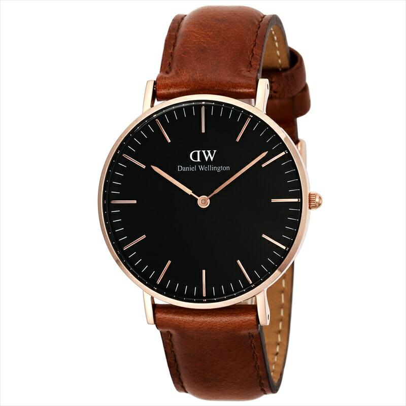 ダニエルウェリントン DanielWellington ユニセックス腕時計 ClassicBlackSt.Mawes DW00100136 ブラック