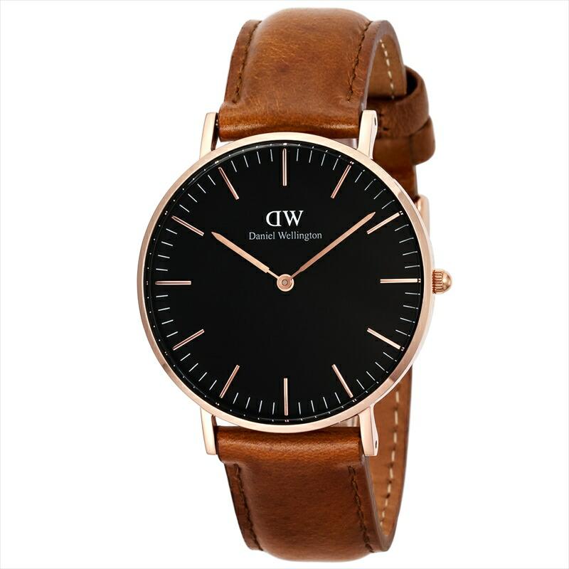 ダニエルウェリントン DanielWellington ユニセックス腕時計 ClassicBlackDurham DW00100138 ブラック