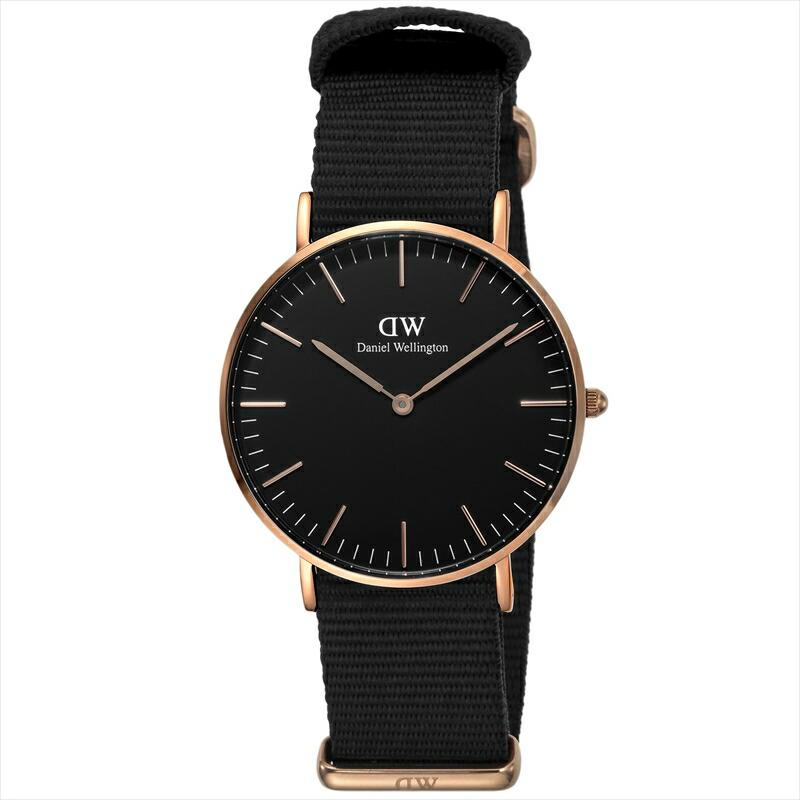 ダニエルウェリントン DanielWellington ユニセックス腕時計 ClassicBlackCornwall DW00100150 ブラック
