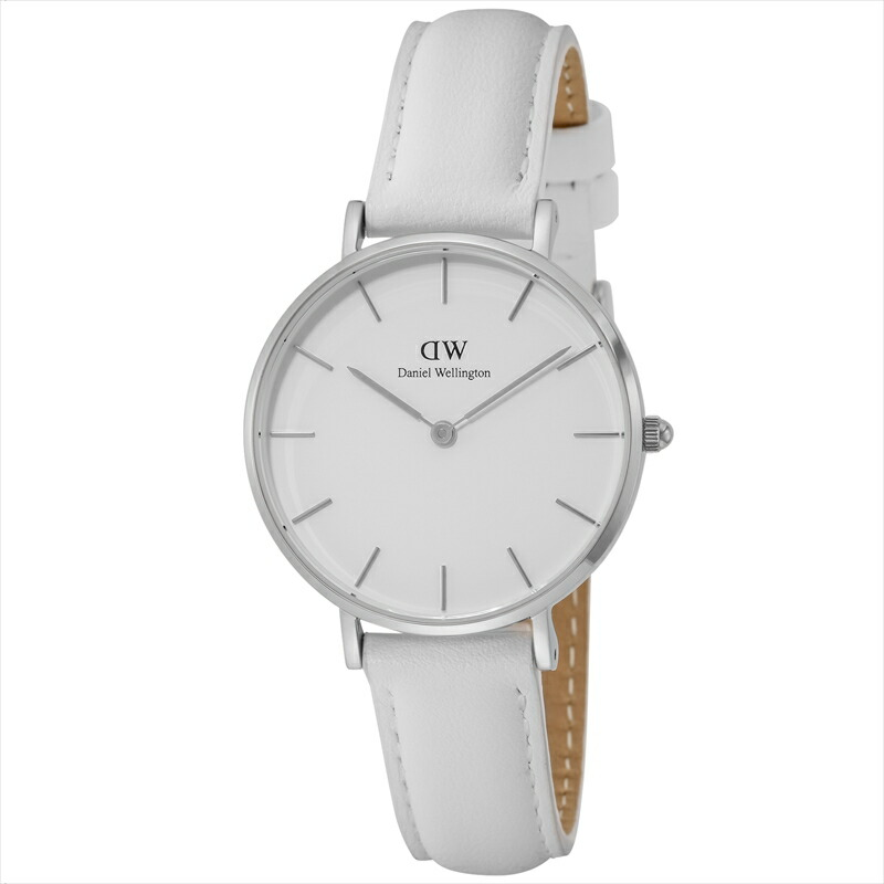 ダニエルウェリントン Daniel Wellington ユニセックス腕時計 DW00100190 ClassicPetiteBondi ホワイト文字盤